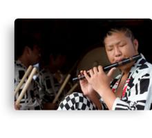 Matsuri Flute Canvas Print