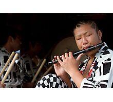 Matsuri Flute Photographic Print