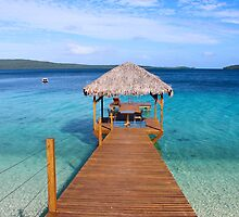 The Jetty Vanuatu by Larissa Dening