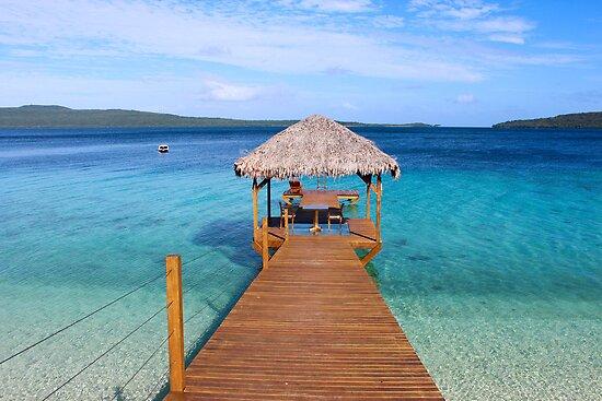 The Jetty Vanuatu by Larissa Dening