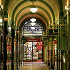Trinity Arcade, Perth by Christine Smith