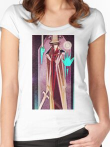 The Magician Tarot Card Women's Fitted Scoop T-Shirt
