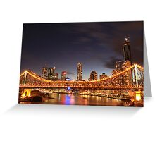 The Story Bridge, Brisbane Greeting Card