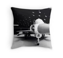 Jet Hanger Throw Pillow