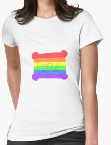 Gay Rights Design - Love Womens Fitted T-Shirt