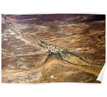 Dams in the Desert, Outback South Australia 657 Poster