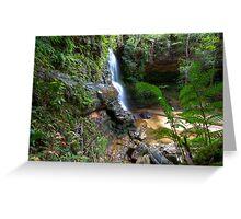 Federal Falls Lawson NSW Australia Greeting Card