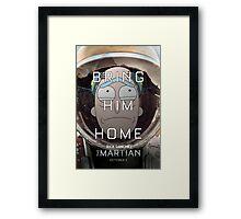 Save Rick! Framed Print
