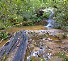 Cataract Falls Lawson NSW Australia by Bezman