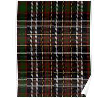 00825 West Coast WM 1572-2 Tartan  Poster