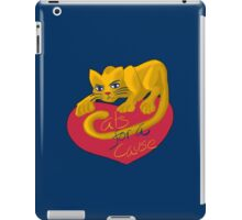 Cats For A Cause iPad Case/Skin