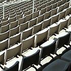 Plastic Chair Set Seats Rows Stadium II by anjafreak