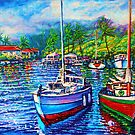 wip 5 Afternoon Reflections Kaneohe Bay by jyruff