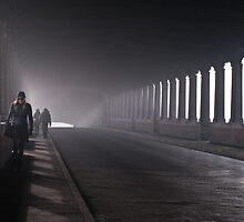 On the bridge by Karen Havenaar