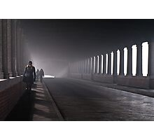 On the bridge Photographic Print