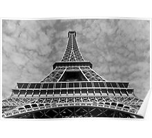 the elegance of eiffel Poster