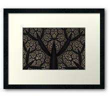 Dark Undergrowth Framed Print