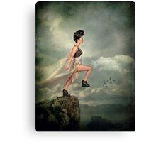 Leap of Faith. Canvas Print