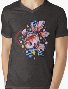 Goldeen Mens V-Neck T-Shirt