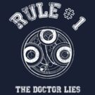 Doctor Who Rule N1 by ixrid