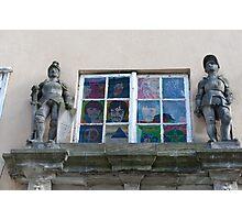 Window at Klub Yesterday Photographic Print