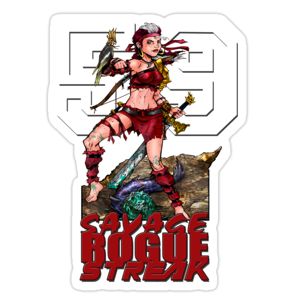 Savage Rogue Streak 59 by Ryan Wilton