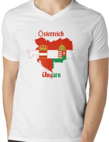 Austria Hungary Mens V-Neck T-Shirt