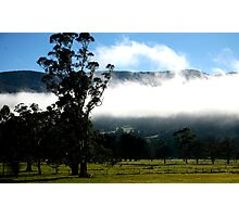 landscapes #231, the hanging mist Photographic Print
