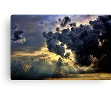 God Rays And Clouds Canvas Print