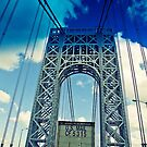 George Washington Bridge by eelsblueEllen