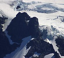 where glacier meets mountain by dedmanshootn