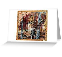 'The Quiet Breath of Autumn' Greeting Card