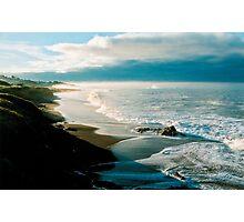 Moonstone Beach, Cambria Photographic Print