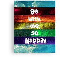Happily- One Direction Canvas Print