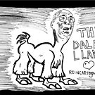 The Dalai Llama by bubbleicious