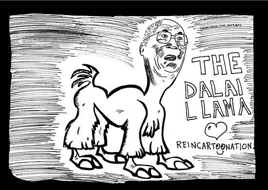 The Dalai Llama by bubbleicious