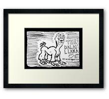 The Dalai Llama Framed Print