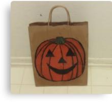 Jack-o'-lantern Halloween Canvas Print