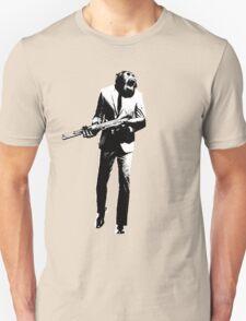 Chimp with AK-47 Unisex T-Shirt