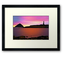 Clyde Morning Framed Print
