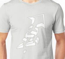 Split Arrows Pointing Up- Unisex T-Shirt