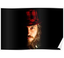 Hat on a Beard Poster