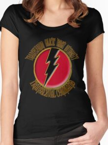 Transylvanian Transit Authority Women's Fitted Scoop T-Shirt