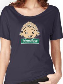 Friendface Women's Relaxed Fit T-Shirt