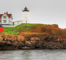 Cape Neddick (Nubble) Lighthouse by Sharon Batdorf