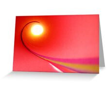 Abstract 3 Greeting Card