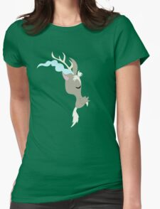 Discord silhouette (No boarder) Womens Fitted T-Shirt