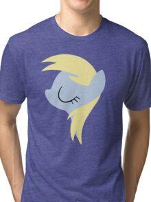 Derpy silhouette (No boarder) Tri-blend T-Shirt