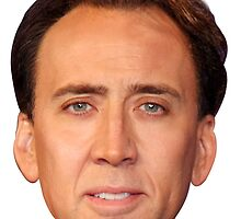 Nicolas Cage  by LucasTheChin