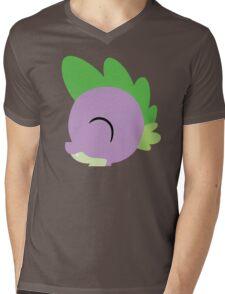 Spike silhouette (No boarder) Mens V-Neck T-Shirt